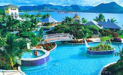 All Inclusive Sandals Grande St Lucian Vacations Resorts