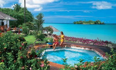 All Inclusive Sandals Halcyon St Lucia Vacations Resorts